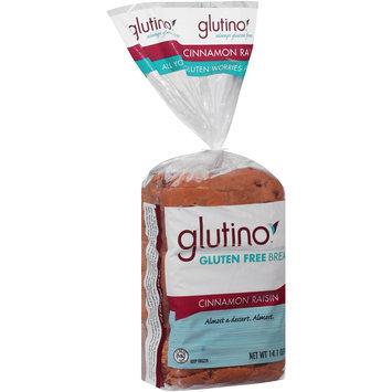 Glutino® Gluten Free Cinnamon Raisin Bread 14.1 oz. Bag