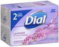 Dial® Lavender & Twilight Jasmine Bar Soap 2-3.2 oz. Pack