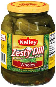 Nalley® Zesty Dill Wholes Pickles 46 fl. oz. Jar