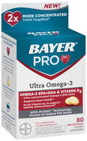Bayer® Pro Ultra Omega-3 Dietary Supplement Mini Softgels