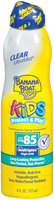 Banana Boat Kids Spray Ultra Mist Clear Continuous SPF 85  Sunblock 6 Oz Aerosol Can