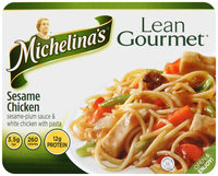Michelina's® Lean Gourmet® Sesame Chicken 8 oz. Tray