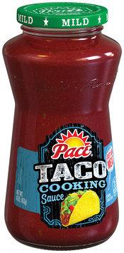 Pace® Taco Cooking Sauce 16 oz. Jar