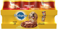 Archived Pedigree 12 With Beef 12 With Chicken Wet Dog Food 24 Ct Cans