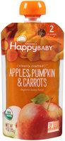 Happy Baby® Organics Apples, Pumpkin & Carrots Baby Food 3.5 oz. Pouch