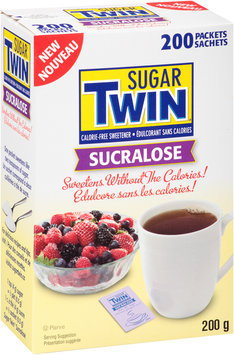 Sugar Twin® Sucralose Sweetener 200 Packet Box