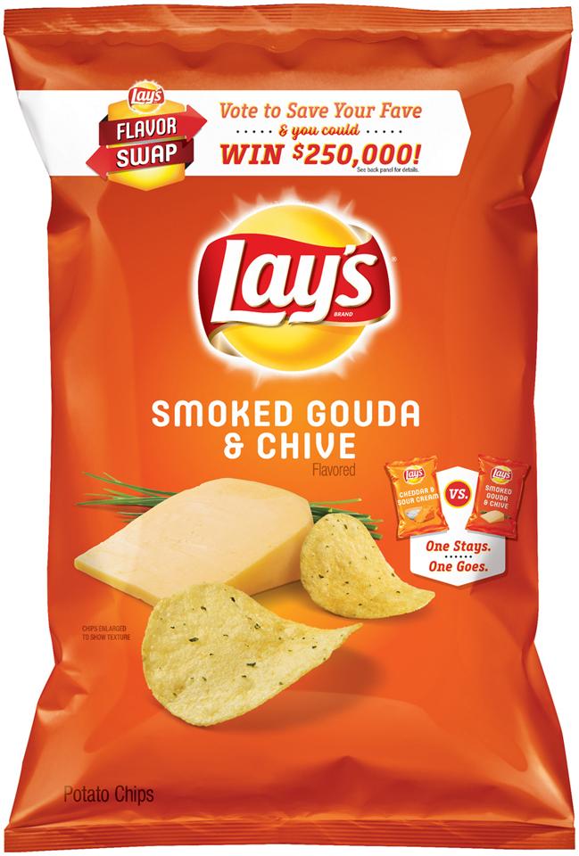 LAY'S® Smoked Gouda & Chive Potato Chips