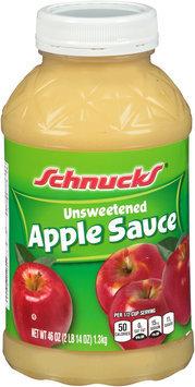 Schnucks® Unsweetened Apple Sauce 46 oz. Jar