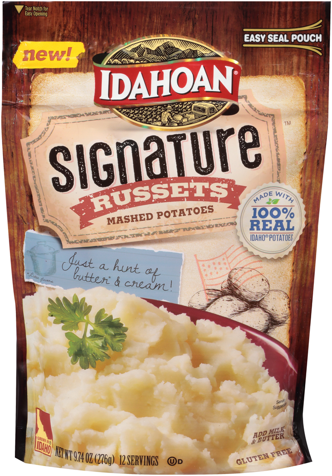 Idahoan® Signature™ Russets Mashed Potatoes