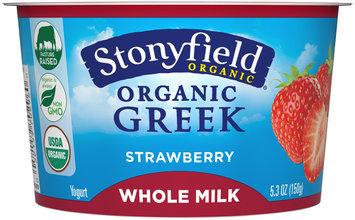 Storyfield Organic® Strawberry Greek Yogurt 5.3 oz Cup