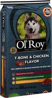 Ol' Roy™ T-Bone & Chicken Flavor Dog Food 50 lb. Bag