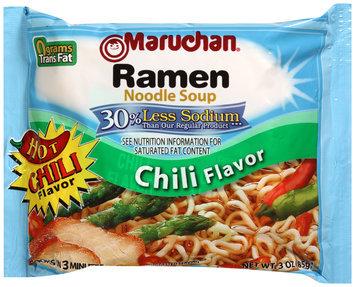 Maruchan Ramen Noodle Soup Chili Flavor 30% Less Sodium