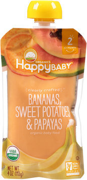 Happy Baby® Organics Bananas, Sweet Potatoes & Papayas 4 oz. Pouch
