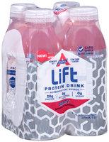 Atkins® Lift Berry Protein Drink 4-16.9 fl. oz. Plastic Bottles