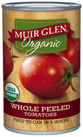 Muir Glen® Organic Whole Peeled Tomatoes 14.5 oz. Can