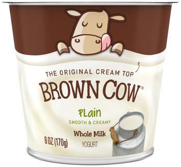 Brown Cow Plain Cream Top 6 oz. Cup