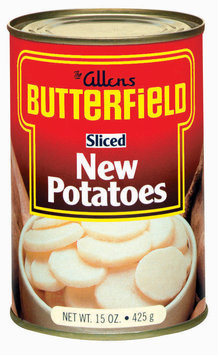 The Allens Butterfield New Sliced Potatoes 15 Oz Can