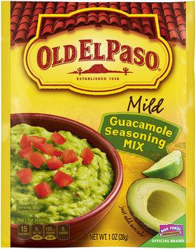 Old El Paso® Mild Guacamole Seasoning Mix 1 oz. Packet