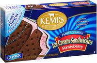 Kemps® Strawberry Ice Cream Sandwiches 42 fl. oz. Box