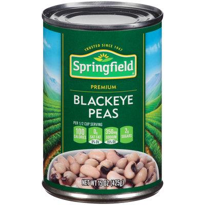 Springfield® Premium Blackeye Peas 15 oz. Can