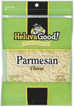 HELUVA GOOD Parmesan Country Gourmet Shredded Cheese 6 OZ PEG