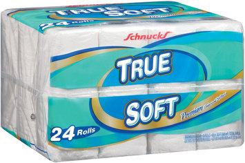 Schnucks Premium Embossed Softness True Soft 24 Ct Wrapper