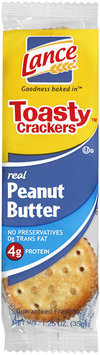 Lance® Toasty™ Peanut Butter Crackers 1.25 oz. Wrapper