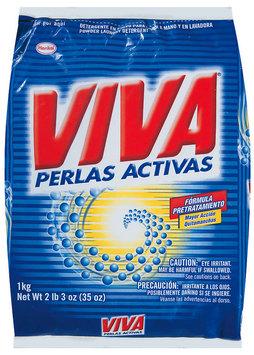 Viva Perlas Activas Powder Laundry Detergent 35 Oz Bag