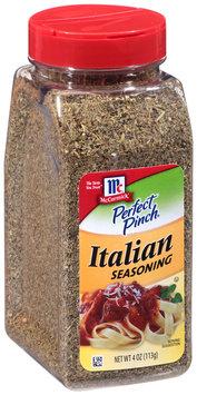 McCormick® Perfect Pinch® Italian Seasoning 4 oz. Shaker