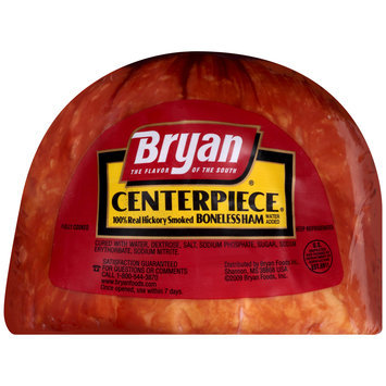 Bryan® Centerpiece® 100% Real Hickory Smoked Boneless Ham
