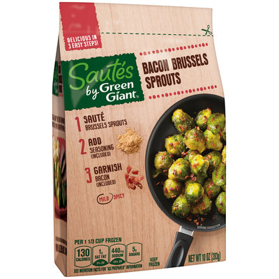 Green Giant® Bacon Brussels Sprouts Sautes