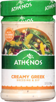 Athenos Creamy Greek Dressing & Dip 12 fl. oz. Jar