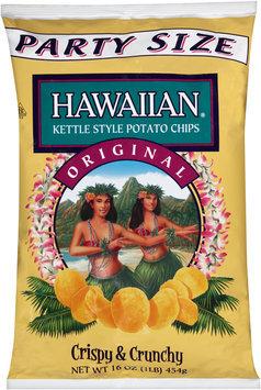 Hawaiian® Kettle Style Potato Chips Original 16 oz. Bag