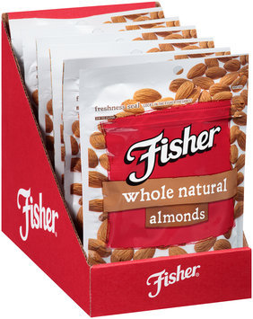 Fisher® Whole Natural Almonds 4.5 oz. Bag