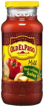 Old El Paso® Thick 'n Chunky Mild Salsa 16 oz. Jar