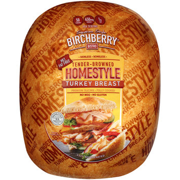 Birchberry® Bistro Signature Style Tender-Browned Homestyle Turkey Breast Pack
