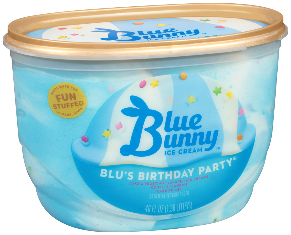 Blue Bunny™ Blu's Birthday Party Ice Cream 48 fl. oz. Tub