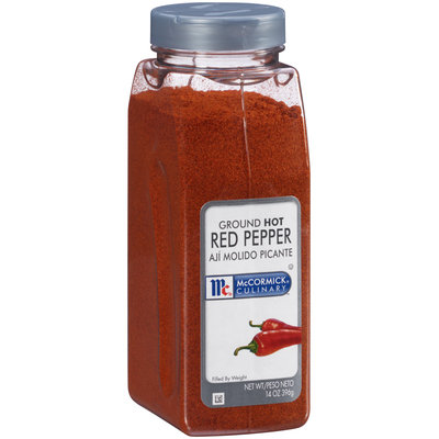 McCormick® Culinary™ Ground Hot Red Pepper 14 oz. Shaker