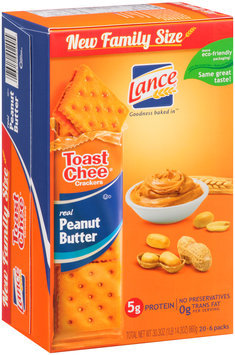 Lance® Toast Chee® Peanut Butter Filled Sandwich Crackers