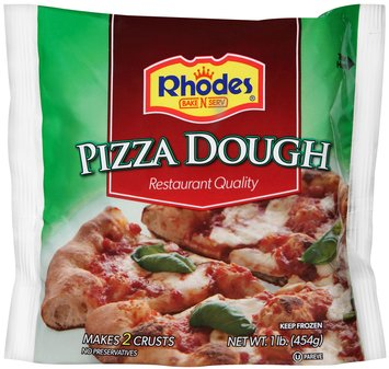 Rhodes Bake-N-Serv® Frozen Pizza Dough 1 lb. Bag