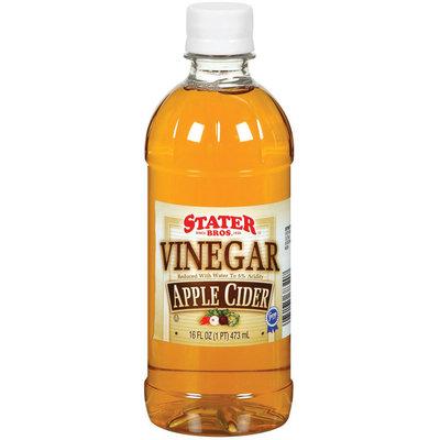 Stater Bros. Apple Cider Vinegar 16 Fl Oz Plastic Bottle