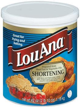 Lou Ana  Shortening 42 Oz Canister