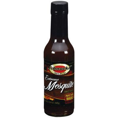 Schnucks Extreme Mesquite BBQ Sauce 5.8 Oz Glass Bottle