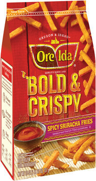Ore-Ida® Bold & Crispy Spicy Sriracha Fries 26 oz. Bag