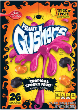 Fruit Gushers™ Tropical Spooky Fruit Flavored Snacks