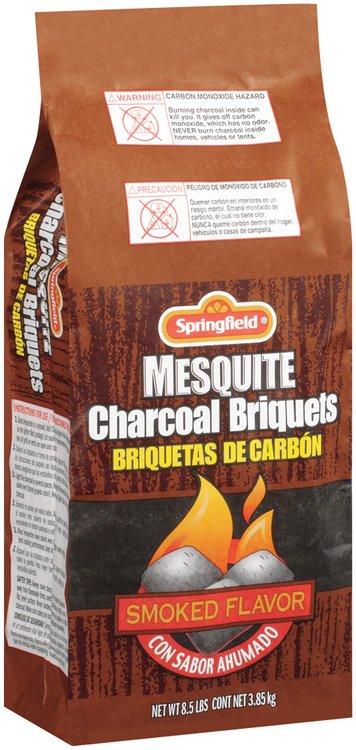 Springfield Mesquite Charcoal Briquets 8.5 Lb Bag