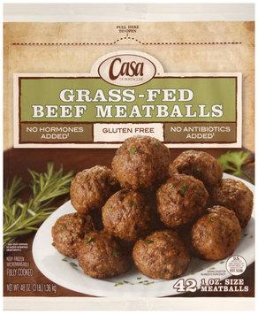casa di bertacchi® grass-fed beef meatballs