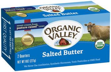 Organic Valley® Organic Salted Butter 8 oz. Box