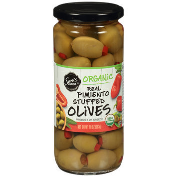 Sam's Choice™ Organic Pimiento Stuffed Olives 10 oz. Jar