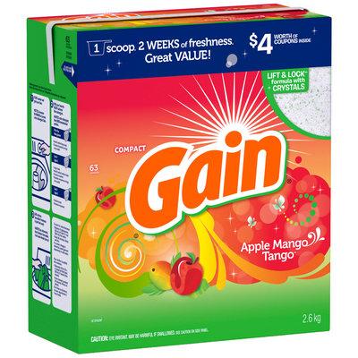 Gain with FreshLock Apple Mango Tango Powder Detergent 93 oz. Carton